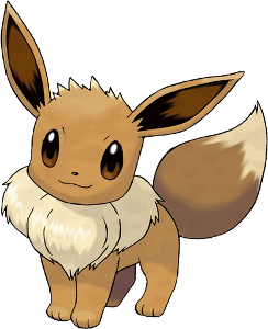 I can't in good conscience give Pikachu the nod over Eevee, though! Who can resist those eyes or its seven Eeveelutions?